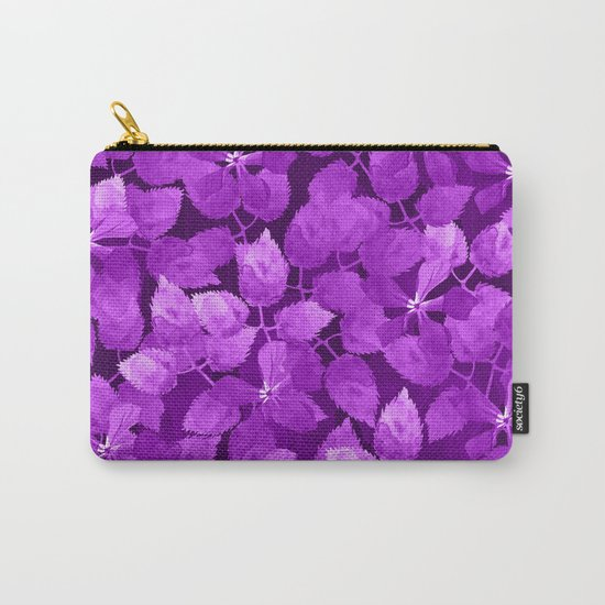 watercolor Botanical garden IV Carry-All Pouch