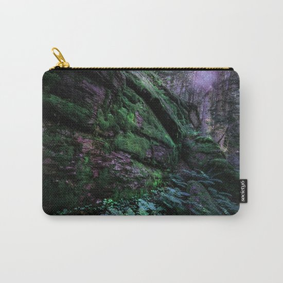Enchanted Forest Wall (Where the Fairies Dwell) Carry-All Pouch