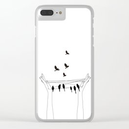 Cat's cradle Clear iPhone Case