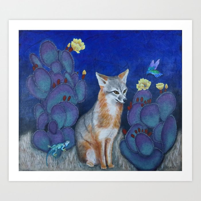 """Foxie"" Art Print"