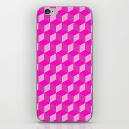 Geometric Series (Pink) iPhone Skin