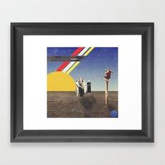 Colors Show Framed Art Print