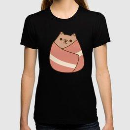 Pupsheen Wrapped in Bacon T-shirt