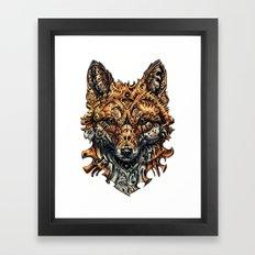 Deception Framed Art Print