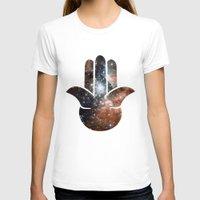 milky way T-shirts featuring Hamsa Milky Way by mailboxdisco