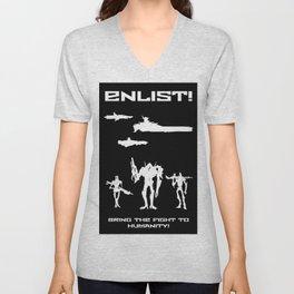 Enlist! Unisex V-Neck