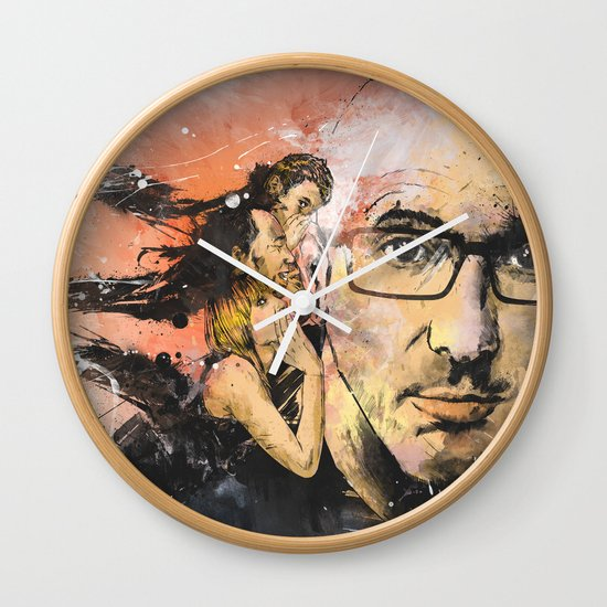 Voices In My Head Wall Clock