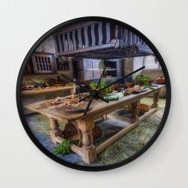 Olde Kitchen Wall Clock