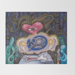Evagria The Faithful Throw Blanket