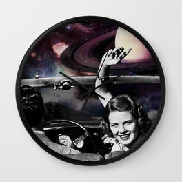 Road to the Moon !! Wall Clock