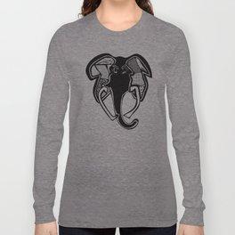 Elephant, redesigned Long Sleeve T-shirt