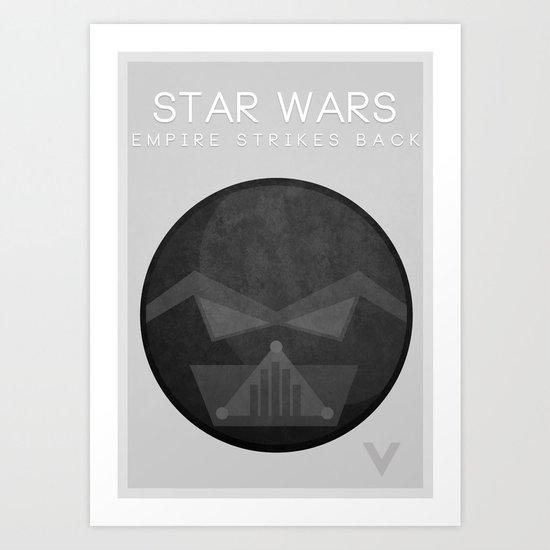 Star Wars V: The Empire Strikes Back Art Print