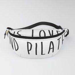 Nice Pilate Gift Yoga Fanny Pack
