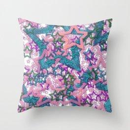 Starfall 2 Throw Pillow