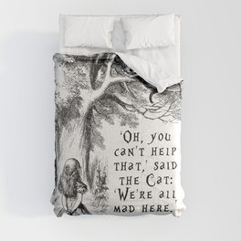 We're all mad here Comforters