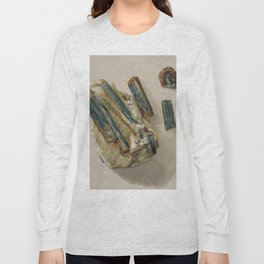 Natural Turquoise Long Sleeve T-shirt