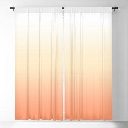 Peach Gradient Blackout Curtain