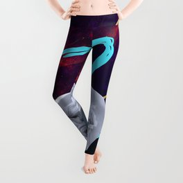 Ancient Gods and Planets: Mercury Leggings