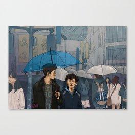 shibuya scramble Canvas Print