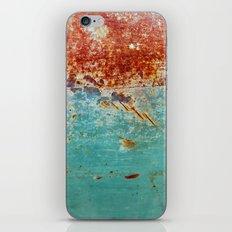 Teal Rust iPhone & iPod Skin