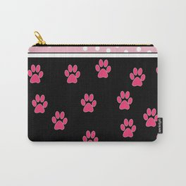 Pink Black Collection: Puppy Carry-All Pouch