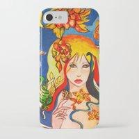 destiny iPhone & iPod Cases featuring Destiny by Ming Myaskovsky