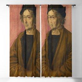 Albrecht Dürer - Portrait of Dürer's Father at 70 Blackout Curtain