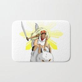Andrea Bonifacio: San (Princess Mononoke) x Bonifacio x Gabriela Silang Bath Mat