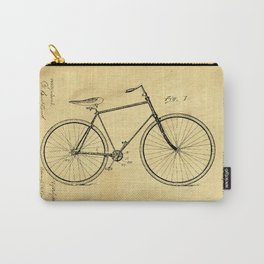 Bicyole Support Patent Drawing From 1894 Carry-All Pouch