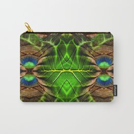 Leafy Pandanus Carry-All Pouch
