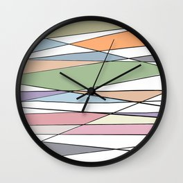 Intersecting Lines Wall Clock
