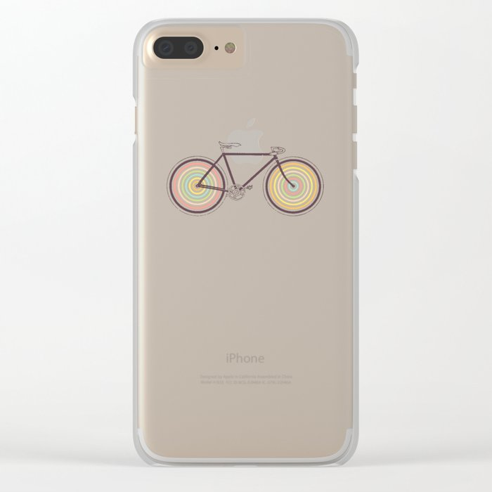 Velocolor Clear iPhone Case