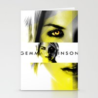 gemma Stationery Cards featuring GEMMA ATKINSON by OmaPRINTS