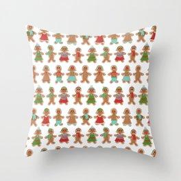 Gingerbread Bonanza Throw Pillow