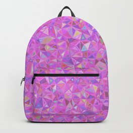 Purple Shards of Life Backpack