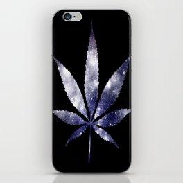 Weed : High Times dark blue Galaxy iPhone Skin
