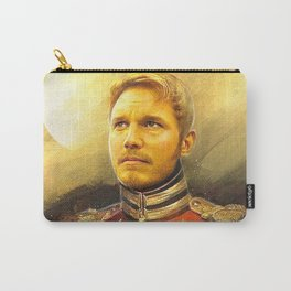 Starlord Guardians Of The Galaxy General Portrait Painting   Fan Art Carry-All Pouch