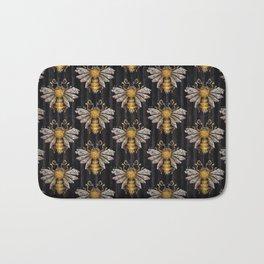 Crystal bumblebee Bath Mat