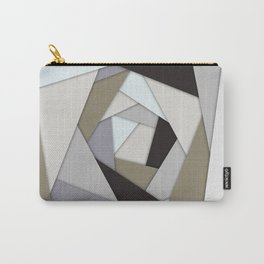 Rotating Geometric Layers Carry-All Pouch