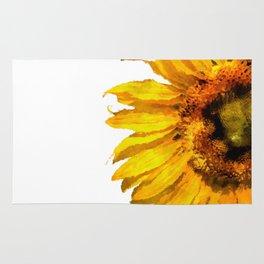 Simply a sunflower Rug