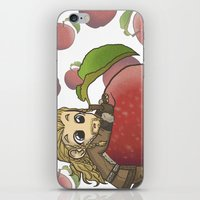 fili iPhone & iPod Skins featuring Fili&Apple by ScottyTheCat