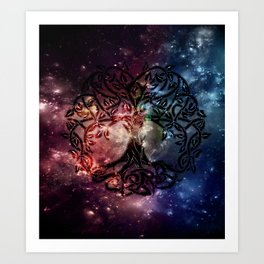 Viking Tree of life Art Print
