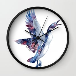 Nebular Loon Wall Clock