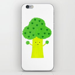 Brocolli Buddy iPhone Skin