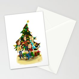 Family Christmas Stationery Cards