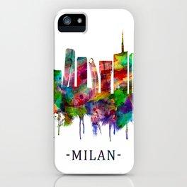 Milan Italy Skyline iPhone Case