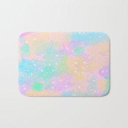 Colorful pastel pattern Bath Mat