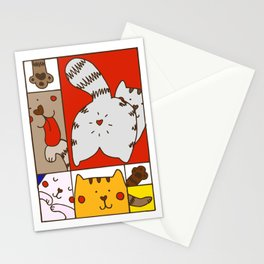 Mondrian's Cat Stationery Cards