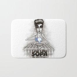 i don't like SOPA Bath Mat