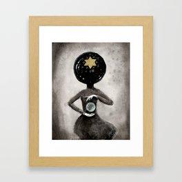 Star Hostess Framed Art Print